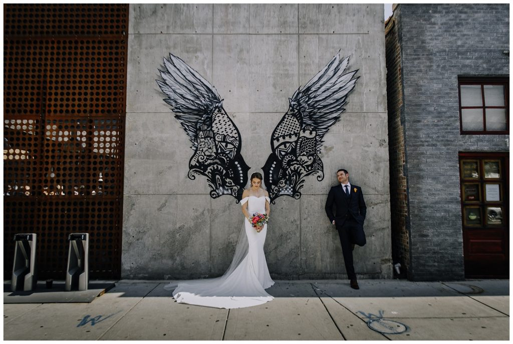 Contemporary Chicago Wedding