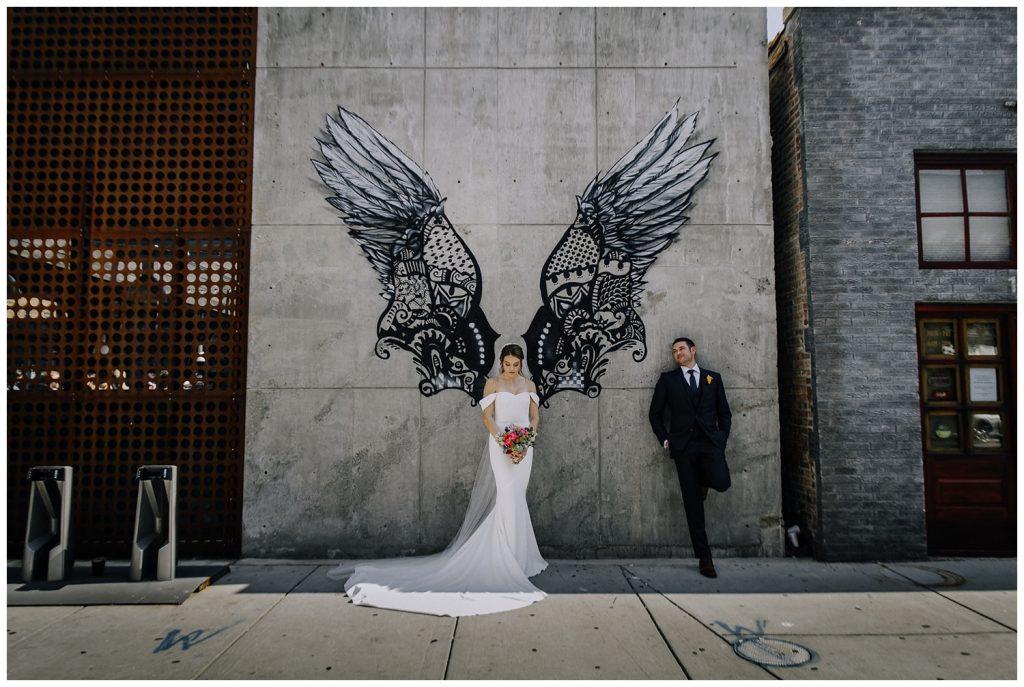 Contemporary Chicago Wedding